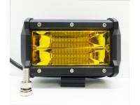 Фара светодиодная LBS865 72W (ближний свет) желтый