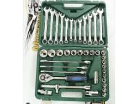 Набор инструментов 40 предметов (зеленый кейс)