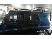 Защита передних, средних боковых окон на УАЗ Хантер Сетка