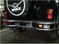 Бампер задний силовой на УАЗ 469 Тайга
