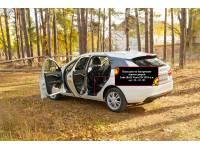 Накладки на внутренние пороги дверей Lada (ВАЗ) Vesta SW Cross 2018-