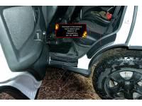 Накладки на внутренние части задних арок без скотча (вариант 2) Lada (ВАЗ) Niva 2020-