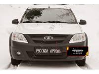 Защитная сетка решетки радиатора Lada (ВАЗ) Largus 2012-2019